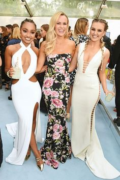 Leigh-Anne Pinnock, Amanda Holden, and Perrie Edwards - The GLAMOUR Awards 2016 in London - June 7, 2016