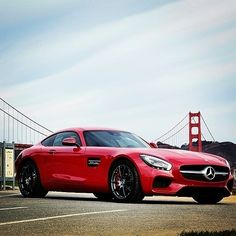 Probably the only time we are happy 'something' is blocking the view of the Golden Gate Bridge! Great shot taken by @habegger in San Francisco during the AMG GT Press Testdrive!  #MercedesBenz #AMGGT #MercedesAMG #mbcar #AMG #redcars #SanFrancisco #GoldenGateBridge #chameleoncar #soloparking #DrivingPerformance #HighPerformance