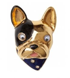 Googly-Eyed French Bulldog Ring | 47 Intensely Delightful Pieces Of Animal Jewelry