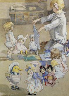 Josephine and her Dolls - Honor C. Appleton, illus.