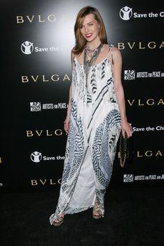 Celebrity styles at the Bvlgari benefit