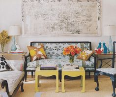 Ivanka Trump's home, decorated by Emma Jane Pilkington, via Little Green Notebook.