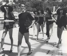 Halston in Acapulco, 1976