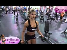 Get Metabolic Part 1 - Chest and Shoulders Circuit | FitnessRX for Women by Lais Deleon