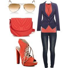 Coral Me, Polyvore