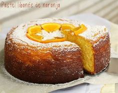 El pastel libanés no lleva nada de harina de trigo, sino almendra molida, lo que lo hace espectacularmente rico y con una textura perfecta. Cocinando en Marte.