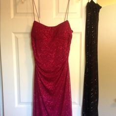 City Triangles Evening/Party Dress Sparkles so pretty. Size L. High-Low. Great condition. Worn once. City Triangles Dresses High Low