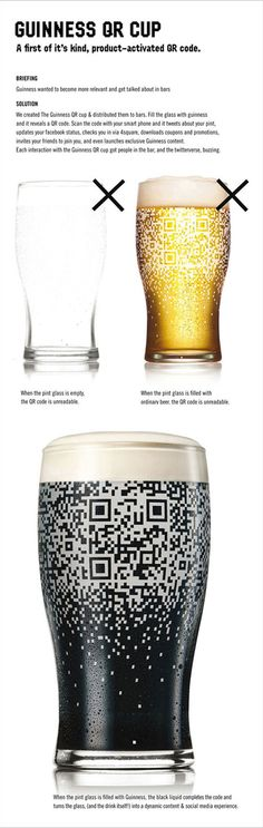 Guinness QR-code