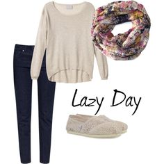 """Lazy Day"" by Christa on Polyvore"