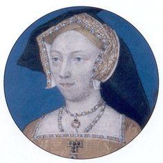 Miniature of Jane Seymour by Lucas Horenbout, c. 1527