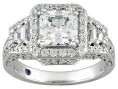 Vanna K (Tm) For Bella Luce (R) 3.66ctw Platineve (Tm) Ring