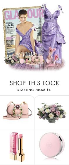 """""""Cover girl"""" by akhesa10 ❤ liked on Polyvore featuring Miu Miu, Allstate Floral, L'Oréal Paris, Chanel and Louis Vuitton"""