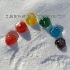 ice ballons | the queen says: