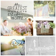 Simple Life. #Moodboards #Mosaic #Collage by Jeetje♡