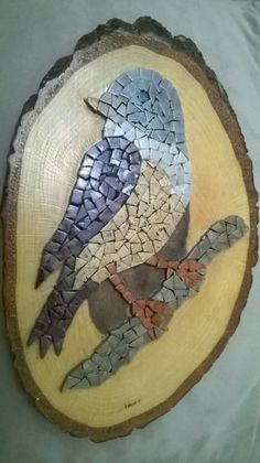 Vitro Mosaic Diy, Mosaic Crafts, Mosaic Wall, Mosaic Glass, Mosaic Animals, Mosaic Birds, Mosaic Birdbath, Mosaic Garden, Mosaic Designs