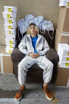Juergen Teller shoots the latest drop from Alexander Wang x adidas Originals - Notion Magazine