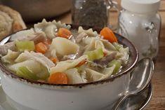 Hearty Amish Chicken Stew | MrFood.com