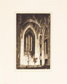 * Reynold Henry Weidenaar, (American, 1915-1985), Glory to God, (Fourth Presbyterian Church, Chicago) - Price Estimate: $300 - $500
