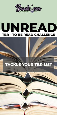 Join the Book'Em Unread Reading Challenge