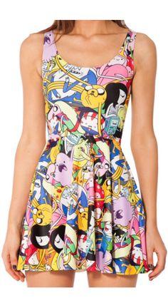 Adventure time wonderful dress