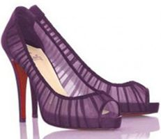 Oh Louboutin #Purple #Ombre #Wedding