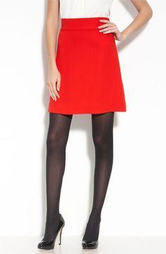 skirt, A-line, bright color