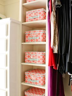 Bring order to your chaotic closet with these organizing tips in mind! Find stylish storage inspiration, budget-friendly DIY projects and more with this helpful cleaning how-to.