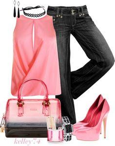 Pink Chiffon Drape