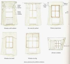 Great tips on window treatments