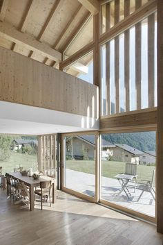 CRN House | Alp'Architecture sàrl | Media - Photos and Videos - 7 Photo And Video, Architecture, Projects, House, Arquitetura, Log Projects, Home, Haus, Architecture Design