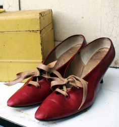 Mary Contrary Shoes: Second Wind Vintage