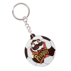 Pringles Rubber Keychain