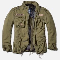 I like this one because it had the liner like the original m65 army field jacket so it dual functions for fall and winter. I could do with out the name tags though.