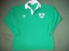 Ireland Rugby Union Shirt Adults Large Classic Vintage Jersey