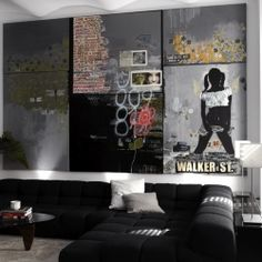 Check out our favorite 21 Bachelor Pad interiors to spruce up your masculine space. [Via: Inthralld]