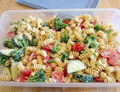 Summer Vegetable Pasta Salad ~ Older Mommy Still Yummy