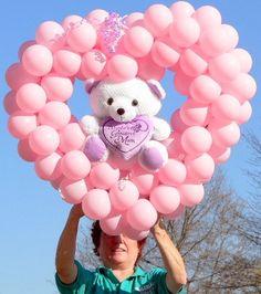valentines helium balloons auckland