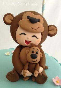 Monkey topper
