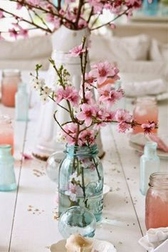 The Beauty Of A Cherry Blossom Wedding Theme Centerpieces Read More