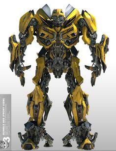 Bumble-bee concepto 2011 #Transformers #3