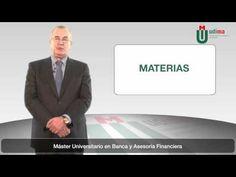 Máster Universitario en Banca y Asesoría Financiera: http://www.udima.es/es/master-banca-asesoria-financiera.html