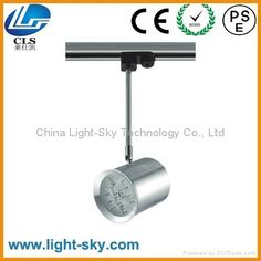 movable and adjustable 9w LED track light in good quality