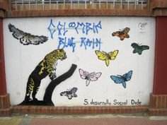 Whatever / whoever is Colombian Blue Rain, the graffiti is pretty good