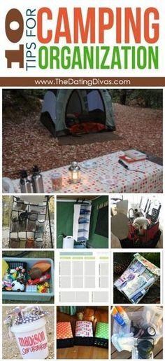 Not only is this camping organization- it's like every link you would ever want or need for camping! Camping apps, what to bring, the best gear and gadgets, camping activities, camping with kids, the best camping recipes, tips and tricks... Like really if