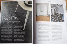Bathroom flooring for DevonHome Magazine