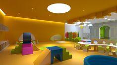 Designed by Tasdelen - Baby Sensory 2013 / Ataşehir / İstanbul Çocuk oyun alanı / içmekantasarımı / içmimari Kindergarden / nursery / interior / interiordesign
