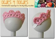 Crochet Child's Tiara