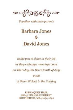 Httplemienozzeoperatori matrimonioweddingplanner sample wedding invitation wording also i like this but dont have image your love stopboris Gallery