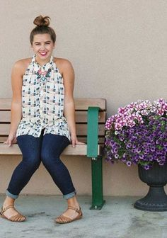 Tesni Swing Tank by Maeve | Pinned by topista.com