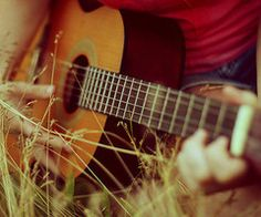 playing guitar, my favorite past time